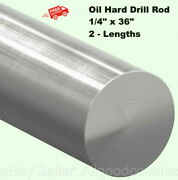 2 1/4 X 36 Drill Rods Oil Hard Steel Grade O1 Easily Welded Machined