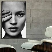 Eb067 Kate Moss Model Pin Up Erotic Poster And Canvas