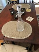 Waterford Crystal Ireland Lismore 13 1/4 Wine Decanter  Excellent