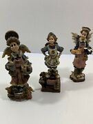 Lot Of 3 Figurines From Boyd's Bears And Friends No Boxes