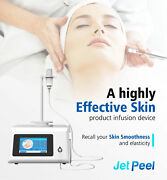 Portable Water Oxygen Jet Therapy Peel Facial Moisturizing Spray Water Home Spa