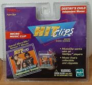 Tiger Hit Clips Destiny's Child Music Clip Micro Music System Factory Sealed