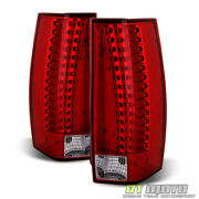 2007-2014 Cadillac Escalade Esv Led Rear Tail Lights Replacement Brake Lamps Set