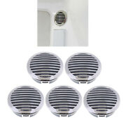 5pcs 4 Inch Rv Marine 316 Stainless Steel Air Flow Vent Cover 81933ss-hp