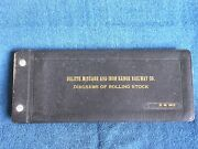 1970s Duluth Missabe And Iron Range Rwy Diagrams Of Rolling Stock Book/leather Cvr
