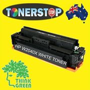 Ghost White Toner Cartridge For Hp M454 M455 M479 M480 Mfp W2040x 4000 Page