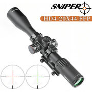 Sniper 4-20x44 First Focal Plane Ffp Riflescope Red/green Illuminated Reticle