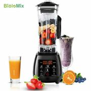 Katlot 3hp Bpa Free 2l Touchpad Blender Mixer Juicer Food Processor
