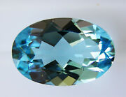 Natural 6.23ct Aquamarine Expertly Faceted In Germany +certificate Included