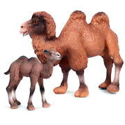 Zoo Animals Toy Andndash Camels Action Figures Andndash Wild Animals Toys - Brown - 2 Pcs
