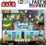 Roblox Celebrity Collection - Adopt Me Pet Store Deluxe Playset - New For 2021