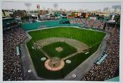 Boston Red Sox Fenway Park 8 X 12 Photo Pre-green Monster Seating 2001 100th
