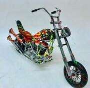 E.m. Zax Harley Davidson One-of-a-kind Hand Painted