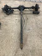 1937 37 Chevy Chevrolet Truck Rear End With Drive Shaft