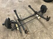 1937 37 Chevy Chevrolet Truck Front Suspension And Steering
