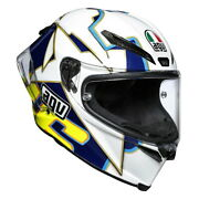 Agv Pista Gp-rr Rossi World Title 03 Replica Full Face Motorcycle Crash Helmet