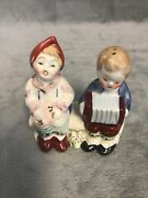 Vintage Salt And Pepper Shakers Occupied Japan Boy And Girl