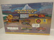 Bachmann 24013 N Scale Thunder Valley Electric Train Sets New In Original Box
