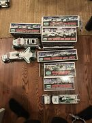 Hess Truck Toy Lot 2008 2009 2010 2011 2012. Varied Condition. Multiples.