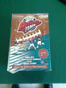 1999 Topps Nfl Action Flats Figures With Football Card Full Box 16