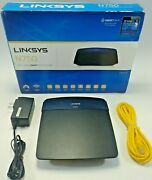 Linksys N750 4-port Dual-band Smart Wi-fi Router Ea3500 -excellent- Free S/h