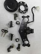 Kawasaki 1000 Concours Zg1000 94 - 06 Ignition Switch Gas Cap Complete Lock Set