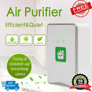 Pluggable Home Air Purifier Ionizer Negative Ion Generator Filterless Cleaner Eu