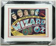 The Wizard Of Oz Hand Autographed Hand Signed