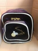 Rare And Vintage Harry Potter Highly Collectiable Purple Bag With Golden Snitch