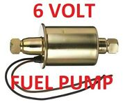 6 Volt Fuel Pump Chevrolet 1940 1941 1942 1946 1947 -can Be Assist Or Primary