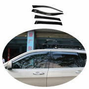 Fit For Jeep Grand Cherokee 2011-2020 Abs Black Side Window Visor Vent Deflector