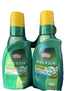 Pack Of 2 Ortho Weed-b-gon Northern And Southern Lawn Weed Killer Concentrate