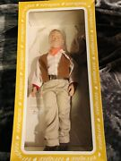 Effanbee 1981 Doll John Wayne In Original Box W/ Tag, Hat, Letter And Winchester