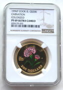 Cook 1996 Mother's Day 200 Dollars Ngc Pf69 1oz Gold Coin,proof