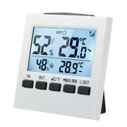 Digital Wireless Indoor Outdoor Thermo-hygrometer Thermometer Humidity Meter ℃/℉