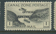 Canal Zone Scott Co7 Mint Stamp Pos 31 Broken O Variety Stock Cz Co7-br2