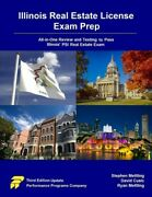 Illinois Real Estate License Exam Prep All-in-one Review And Testing To Pas...