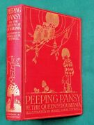 Peeping Pansy 1st 1919, Illus Mabel Lucie Attwell, By Marie Queen Of Rumania