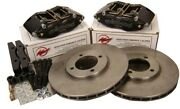 Wilwood For Ford Cortina / Westfield Brake Kit Midilite 4 Pot Calipers 247mm Dis