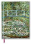 Claude Monet Bridge Over A Pond For Water Lilies Blank Sketch Book English