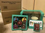 Johnnyand039s King And Snow Globe And Christmas Ornament Set Unused 464/af