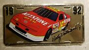 Quantity 4 1992 Wally Dallenback Jr License Plates New In Wrapper Mint Condition
