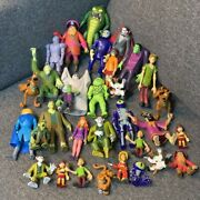 Utarl Rare Lot 32 Scooby Doo 50th Anniversary Fred 5 Figure Toys Doll Xmas Gift
