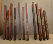 11 Stanley Wood Level Lot Collectible Antique Tools Parts Or Repair Vintage
