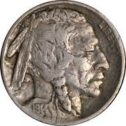 1914/3-p Buffalo Nickel Early Die State Nice F/vf Great Eye Appeal Nice Strike