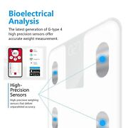 Smart Digital Bathroom Body Weight Scale Bmi Bluetooth Ios Android Fitness App