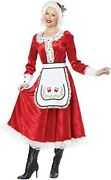 Classic Mrs. Claus Adult Christmas California Costumes Xl 01556