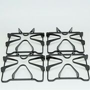 4 Pack Of Gas Range Burner Cooking Grates For Whirlpool 8053458 Wpw10268483