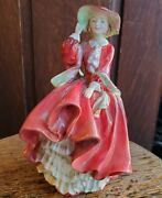Vintage Royal Doulton Top O The Hill Figurine 40and039s Bone China Hn1834 Rdno 822821