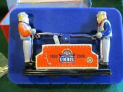 Lionel Schylling Collector's Series Tin Toys. Lionel Hand Car. Brand New O Sca